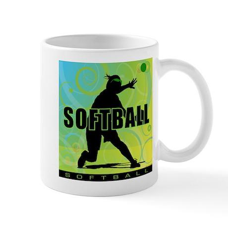 2011 Softball 15 Mug