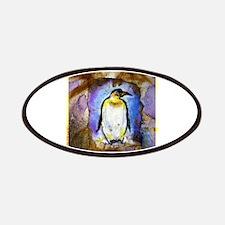 Penguin, colorful, art, Patches