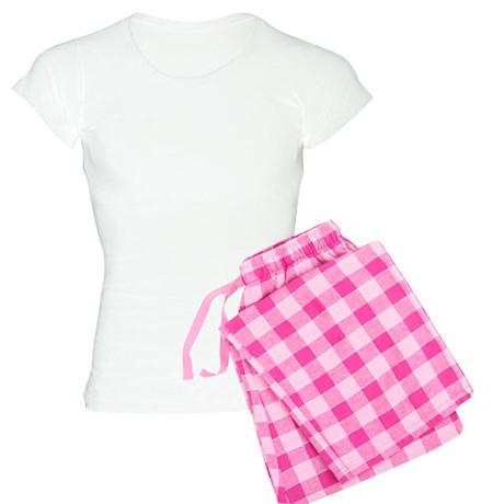 MAke Love Not War (backside) Women's Light Pajamas