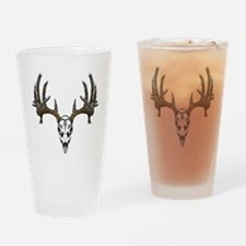 Whitetail deer skull Pint Glass
