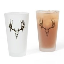 Deer skull Drinking Glass