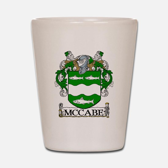 McCabe Coat of Arms Shot Glass