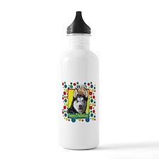 Birthday Cupcake - Husky Water Bottle