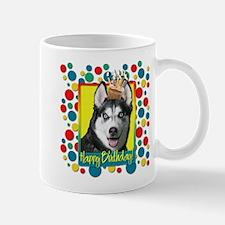 Birthday Cupcake - Husky Mug