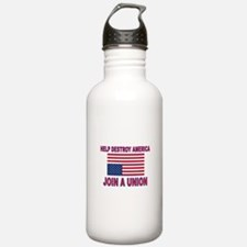 FIGHT SOCIALISM Water Bottle