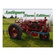 Antiques Farm Edition Wall Calendar