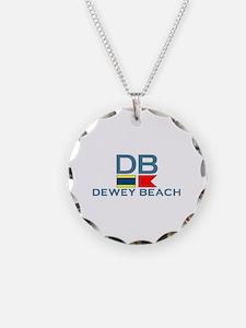Dewey Beach DE - Nautical Design Necklace
