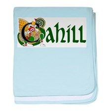Cahill Celtic Dragon baby blanket
