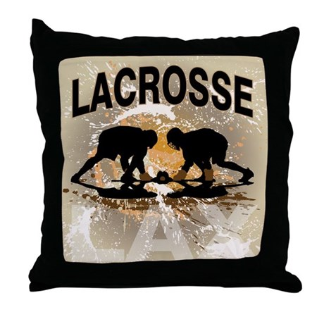 2011 Lacrosse 12 Throw Pillow