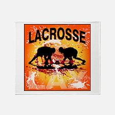 2011 Lacrosse 10 Throw Blanket