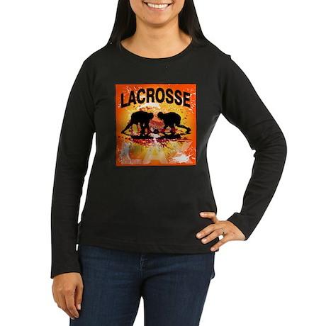 2011 Lacrosse 10 Women's Long Sleeve Dark T-Shirt