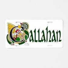 Callahan Celtic Dragon Aluminum License Plate