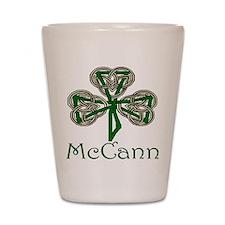 McCann Shamrock Shot Glass