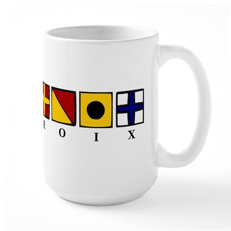 Nautical St. Croix Large Mug