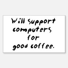 Support for Coffee Decal