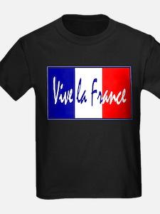 French Flag Vive La France T