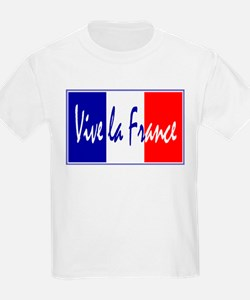 French Flag Vive La France T-Shirt