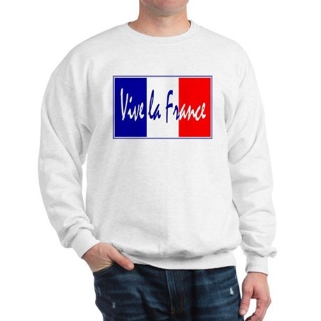 French Flag Vive La France Sweatshirt