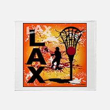 2011 Lacrosse 7 Throw Blanket