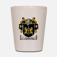 Carroll Coat of Arms Shot Glass