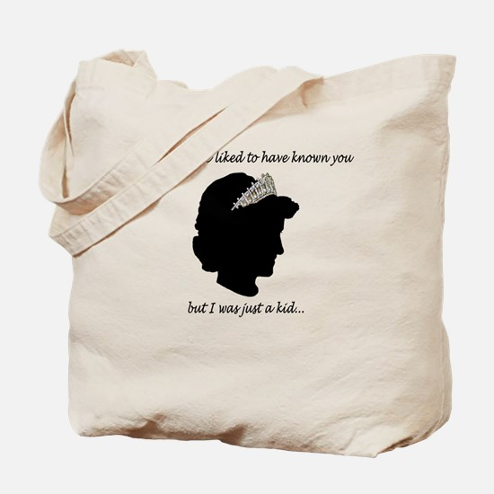 Princess Diana Like to Know You Tote Bag