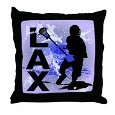 2011 Lacrosse 5 Throw Pillow