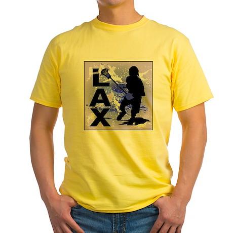 2011 Lacrosse 5 Yellow T-Shirt