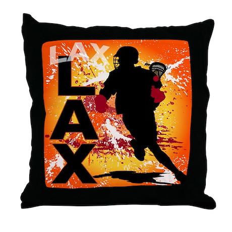 2011 Lacrosse 3 Throw Pillow