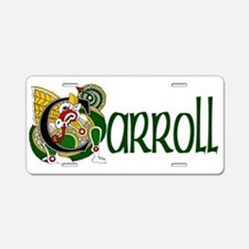 Carroll Celtic Dragon Aluminum License Plate