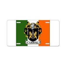 Carroll Arms Flag Aluminum License Plate
