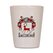 McCarthy Coat of Arms Shot Glass