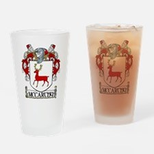 McCarthy Coat of Arms Drinking Glass