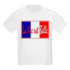 French Flag Vive La France T-Shirt