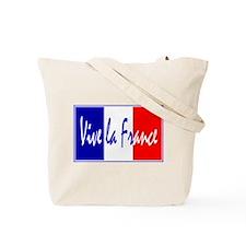 French Flag Vive La France Tote Bag