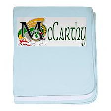 McCarthy Celtic Dragon baby blanket