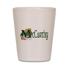 McCarthy Celtic Dragon Shot Glass