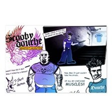 Scooby Douche Comic Postcards (Package of 8)
