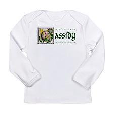 Cassidy Celtic Dragon Long Sleeve Infant T-Shirt