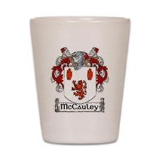 McCauley Coat of Arms Shot Glass