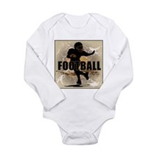 2011 Football 4 Long Sleeve Infant Bodysuit