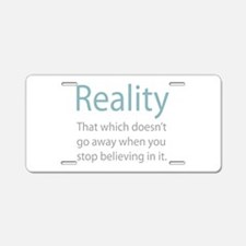 Reality Aluminum License Plate