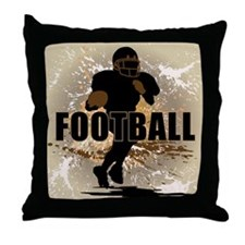 2011 Football 1 Throw Pillow
