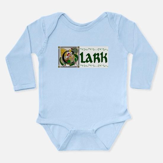Clark Celtic Dragon Long Sleeve Infant Bodysuit