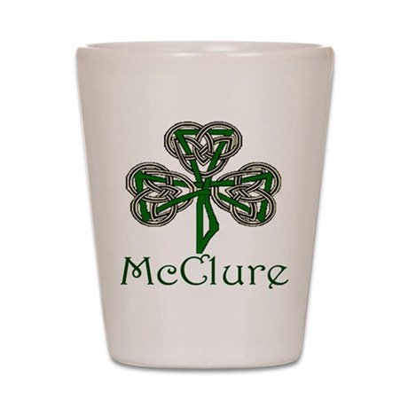 McClure Shamrock Shot Glass