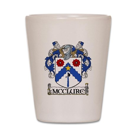 McClure Coat of Arms Shot Glass