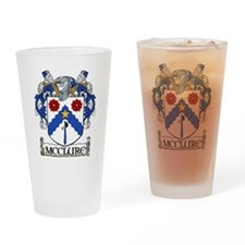 McClure Coat of Arms Drinking Glass