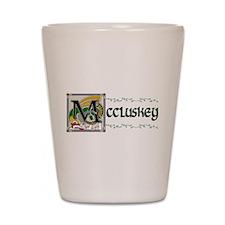 McCluskey Celtic Dragon Shot Glass