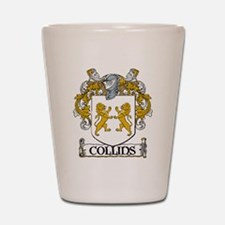 Collins Coat of Arms Shot Glass