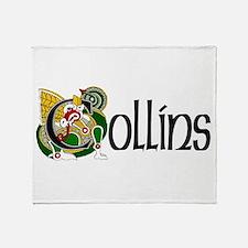 Collins Celtic Dragon Throw Blanket