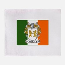 Collins Tricolour Throw Blanket